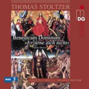 CD cover - Benedicam Dominum